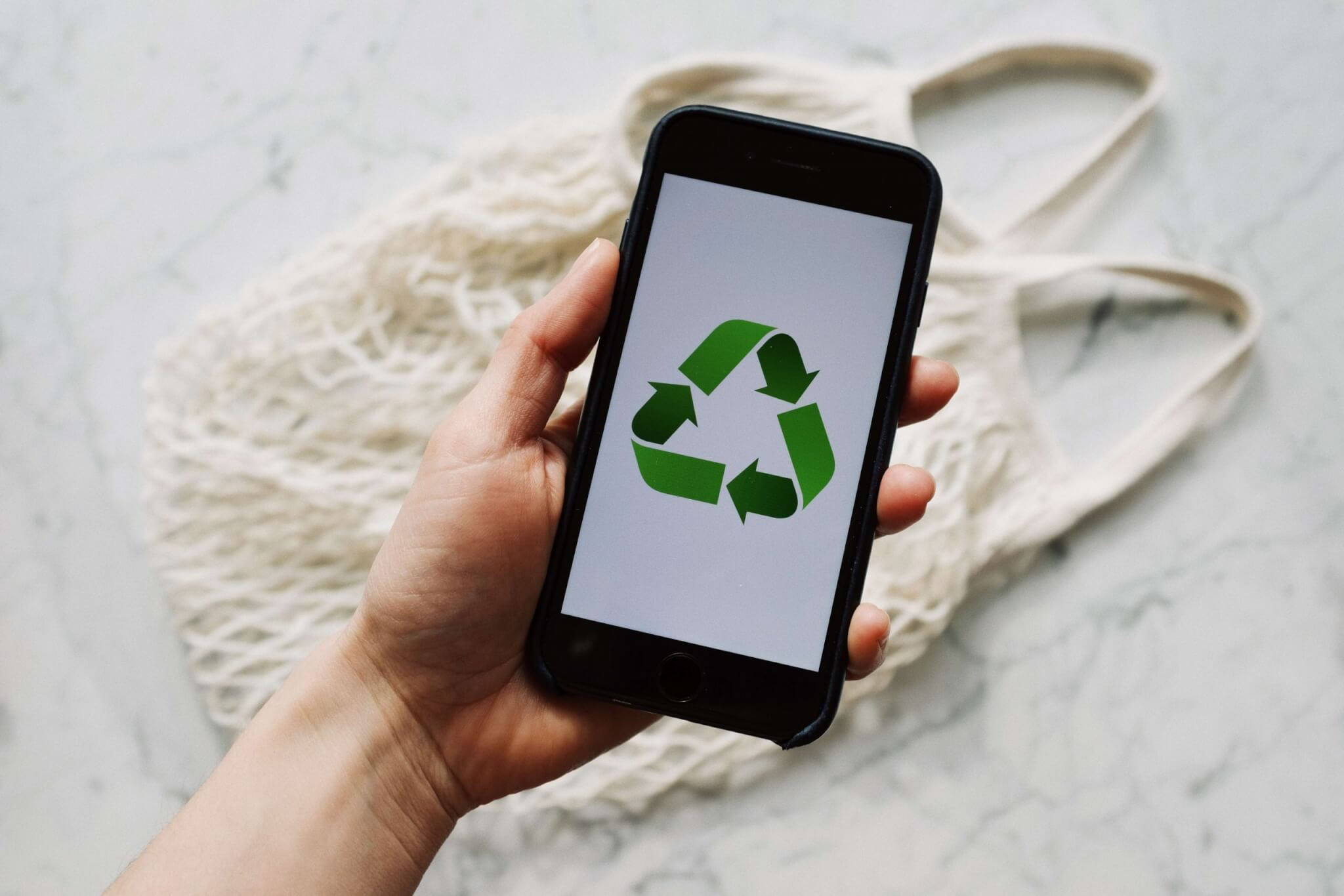 recycling phone or laptop